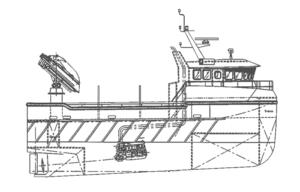 Sendingen III - multifunksjonell katamaran - Havsterk