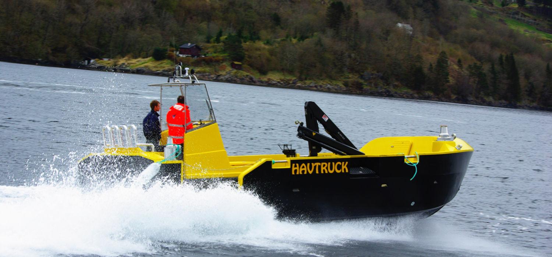Havsterk servicebåt HAVtruck