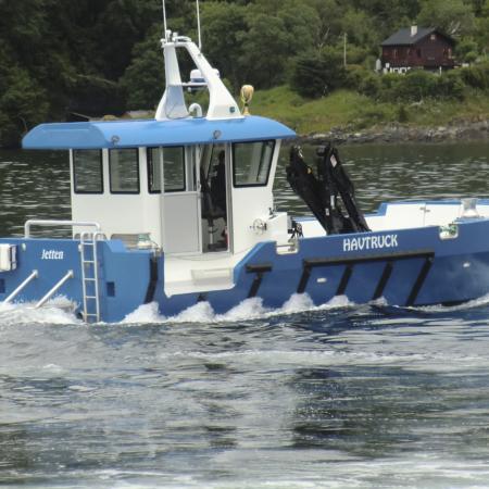 Servicebåt Havsterk - HAVtruck JR