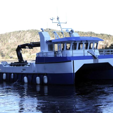Servicebåt Havsterk - Sendingen III