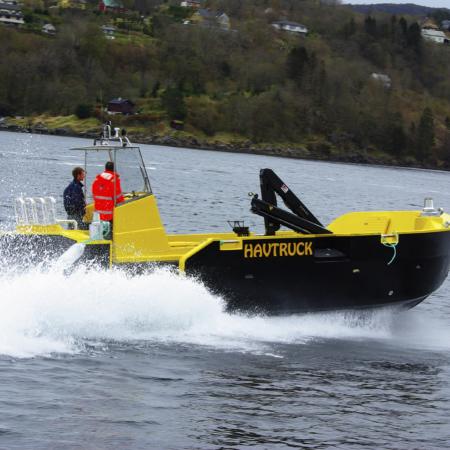 Servicebåt Havsterk - HAVtruck