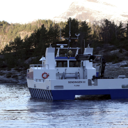 Servicebåt Sendingen III, Steinvik Fiskefarm
