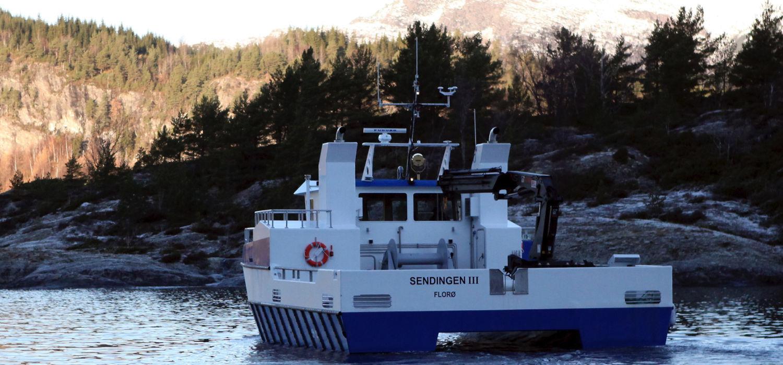 Havsterk servicebåt Sendingen 3